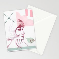 Classroom Girl Stationery Cards