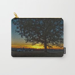 Columbia Va. Sunset in Oil Carry-All Pouch
