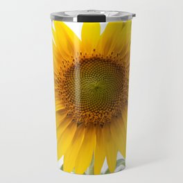 Sunflower #1 #decor #art #society6 Travel Mug