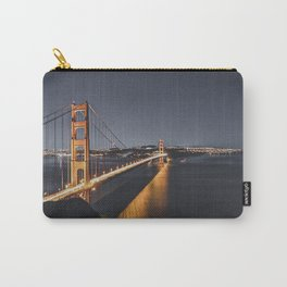 Golden Gate Glowing Carry-All Pouch