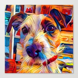Jack Russell Terrier 2 Canvas Print