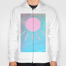 Pink sunlight lashes Hoody