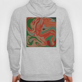 Abstract Colorful Pattern Hoody