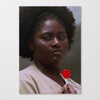 oitnb Canvas Prints featuring Taystee, OITNB by sinika
