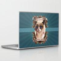 grumpy Laptop & iPad Skins featuring Grumpy by TsaoShin