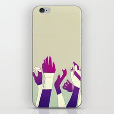 Crowd iPhone & iPod Skin