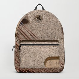 Abstract Piano Wires Backpack