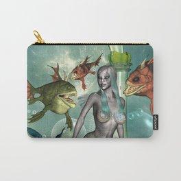 Wonderful dark mermaid  Carry-All Pouch