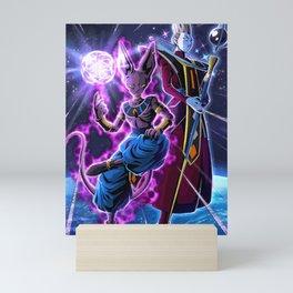 beerus Dragon Ball Super  Mini Art Print