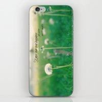 jane austen iPhone & iPod Skins featuring Happiness Jane Austen by KimberosePhotography
