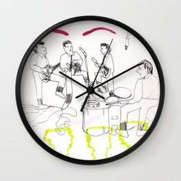 Baby's In Black Wall Clock