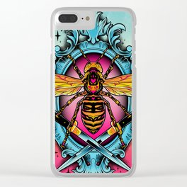 Giant Hornet Clear iPhone Case