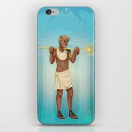 Greek Gods - Apollo iPhone Skin