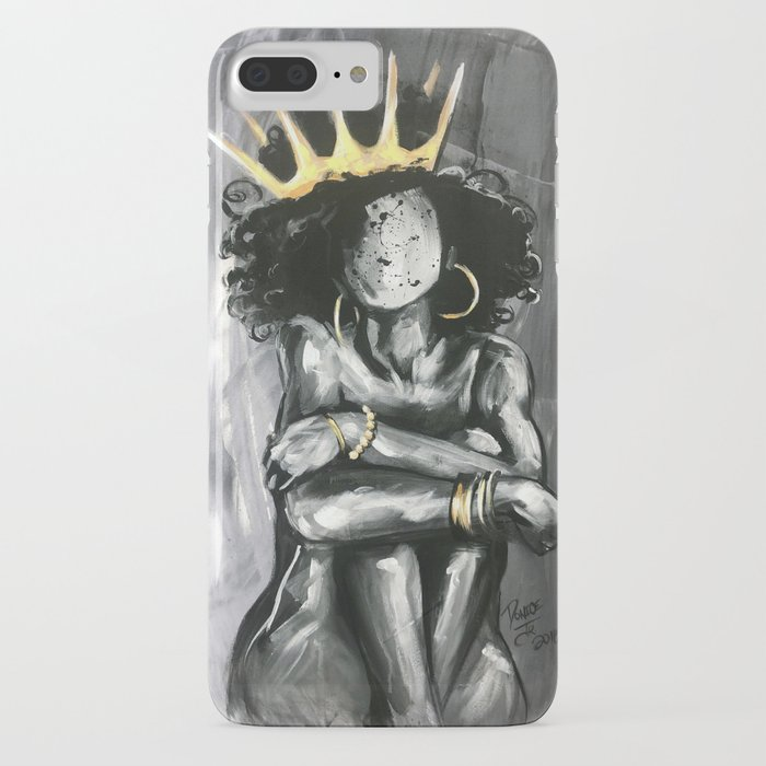 naturally queen ix iphone case