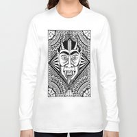 devil Long Sleeve T-shirts featuring Devil by Cady Bogart