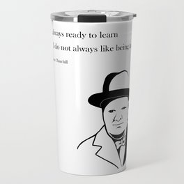 Winston Churchill Travel Mug