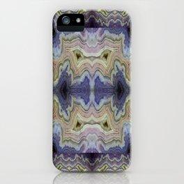 Royal Aztec Lace Agate iPhone Case