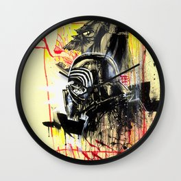 DARK SIDE RULES Wall Clock