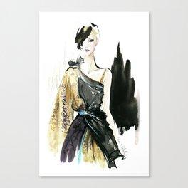 NYFW Fashion Illustrations Canvas Print