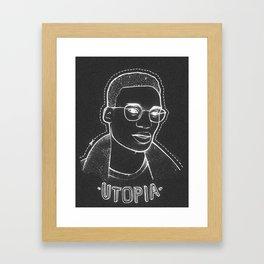 UTOPIA - Ian Framed Art Print