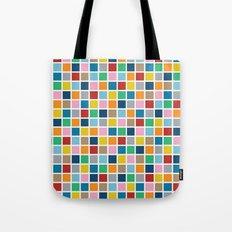 Colour Block Outline Tote Bag