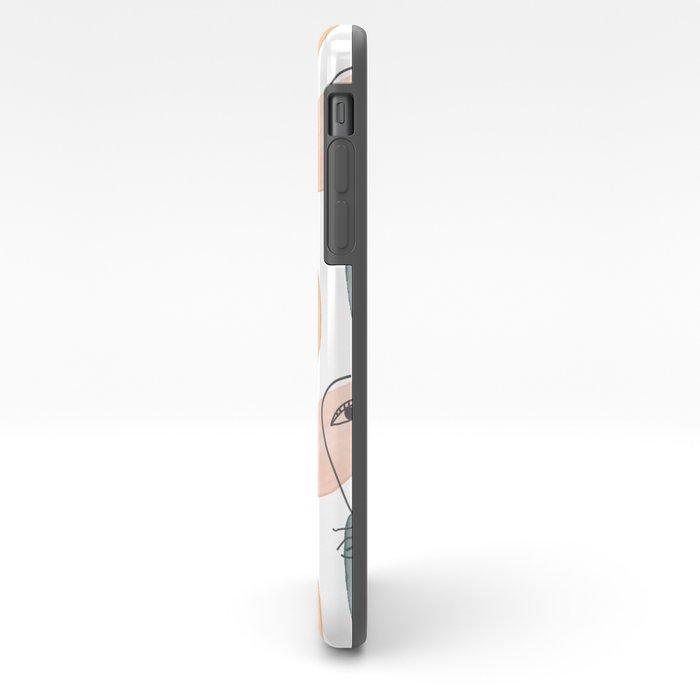 Minimal Figurative Pattern #society6 #buyart iPhone Case
