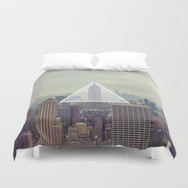New York Triangle Duvet Cover
