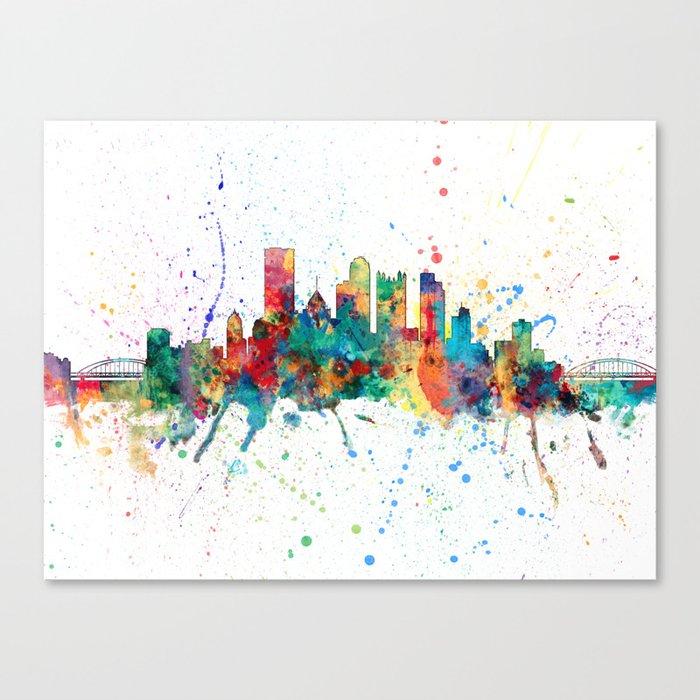 Pittsburgh Pennsylvania Skyline Leinwanddruck