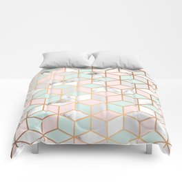 Marble & Geometry 051 Comforters