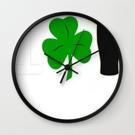 I Rock Guinness - dark Wall Clock