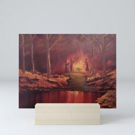 Pagan Fire Mini Art Print