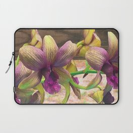 The orchids are blooming. Laptop Sleeve
