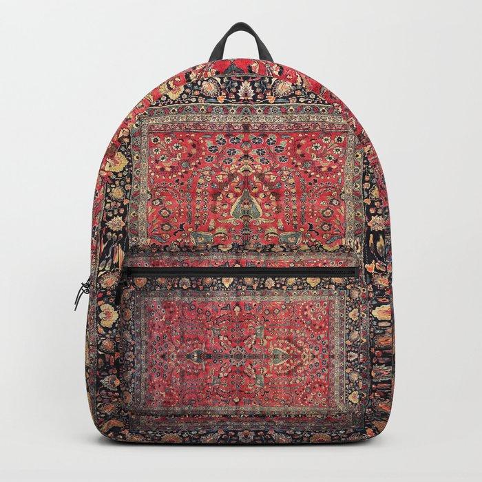 Antique Persian Red Rug Rucksack
