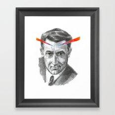 Cary Grant LSD Framed Art Print