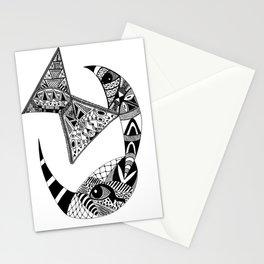 Rhino Horn Stationery Cards