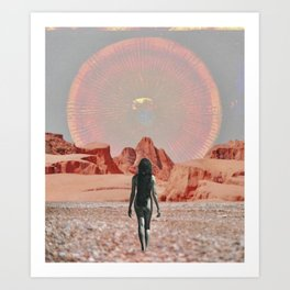 Matar Art Print