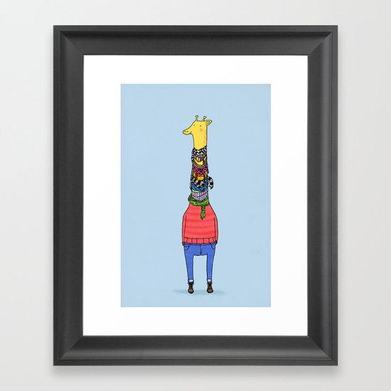 Scarf Lover Framed Art Print