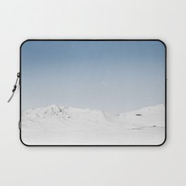 Cold Snowy Mountains Laptop Sleeve