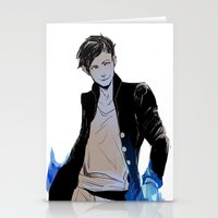 bane Stationery Cards featuring Magnus Bane by The Radioactive Peach