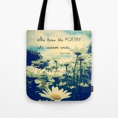 Poetic Life Tote Bag