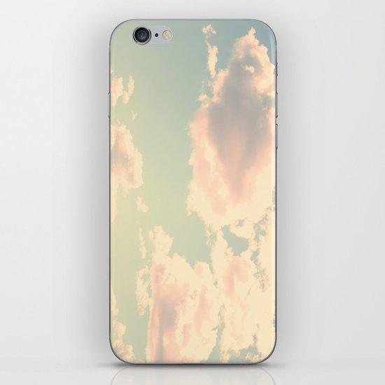 Barbe à Papa à la saveur du ciel iPhone & iPod Skin