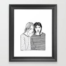 Inktober 04_2016 Framed Art Print