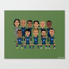 Paris Saint-German 2013 Squad Canvas Print
