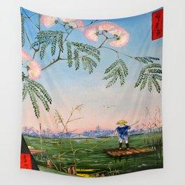 Flowering Acacia Wall Tapestry