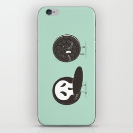 Cookies and Scream iPhone Skin