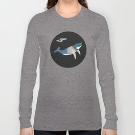 Whalesley Crusher Long Sleeve T-shirt