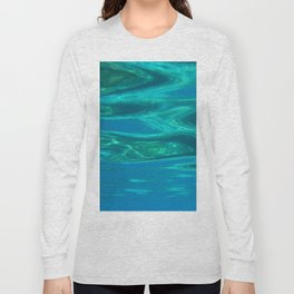 Below the surface - underwater picture - Water design Long Sleeve T-shirt
