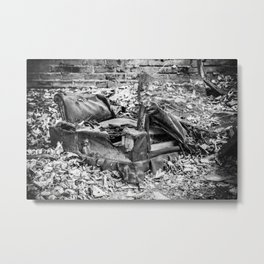 Urban Decay Metal Print