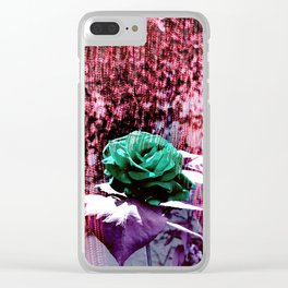 Somewhere 1 Clear iPhone Case
