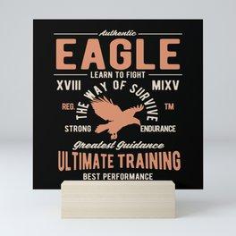 Authentic Eagle Mini Art Print